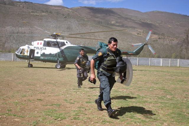 Protestas en Perú dejan cinco muertos
