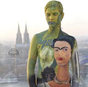 Buscan mujeres que presten sus cuerpos desnudos para homenajear a Frida