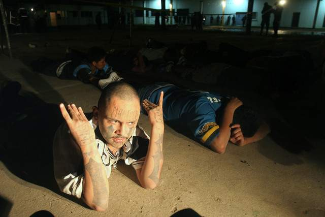 Capturan a 40 pandilleros en Guatemala