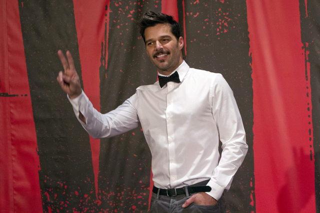 Descanso de Ricky se siente en 'Evita'