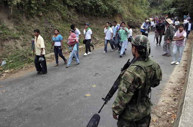 Santos mantendrá vigilancia militar en el Cauca