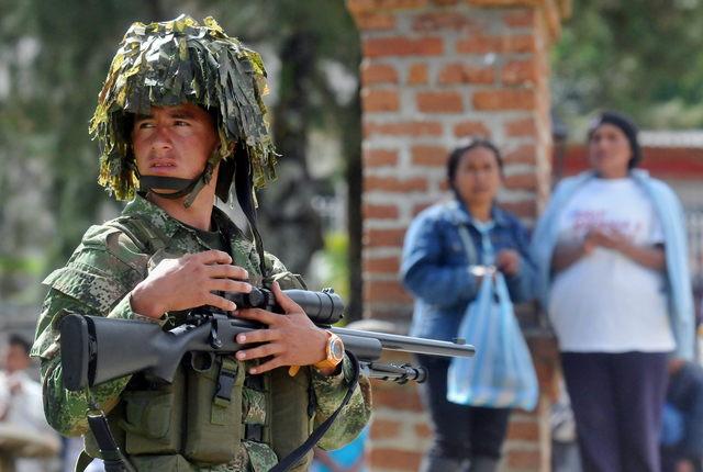 FARC ataca con morteros a población