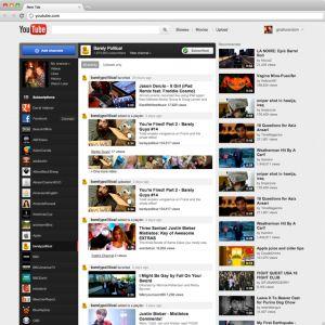 Realzan a YouTube  como medio  noticioso