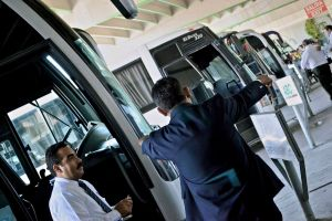 Mexican Bus Drivers Condemn Extortion