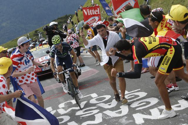 Valverde gana etapa y Wiggins resiste  ataque