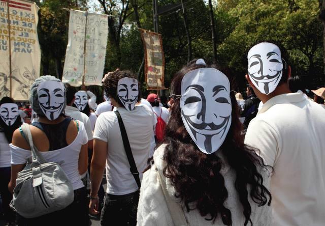 Marcha para pedir nuevas elecciones en México