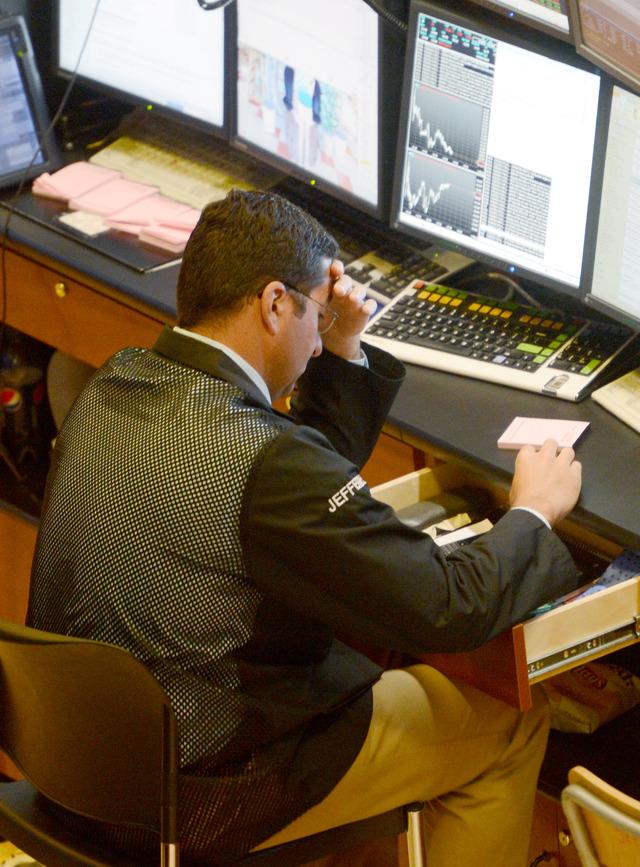 Wall Street sufre por  crisis del euro
