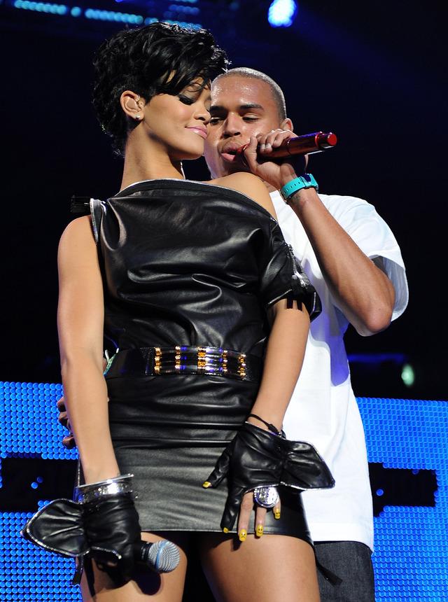 Rihanna vacaciona con Chris Brown