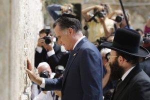 Ignorante, racista e insensible: Palestinos truenan contra Romney
