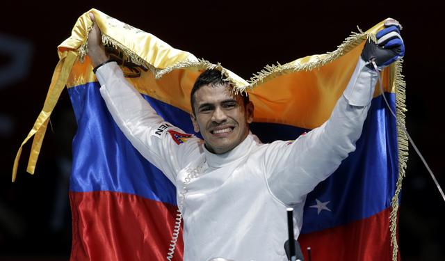 Venezuela acaba sequía dorada en Olimpiadas