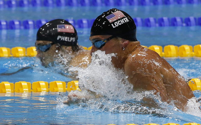 Se reanuda duelo Lochte-Phelps