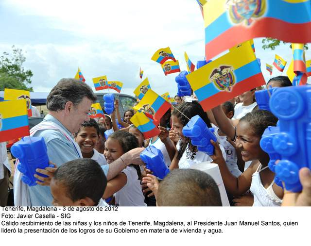 Santos llega a la mitad de su mandato