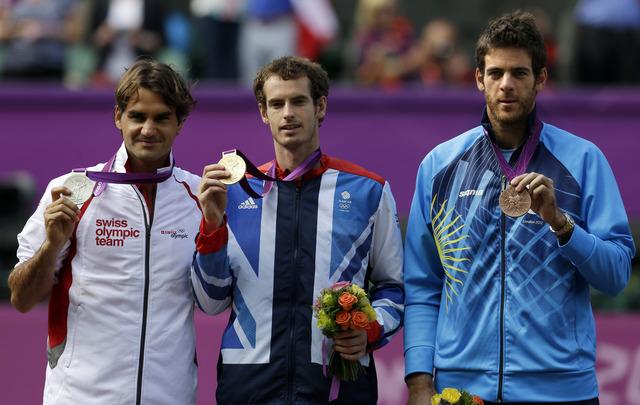 Murray vence a Federer y  gana la dorada
