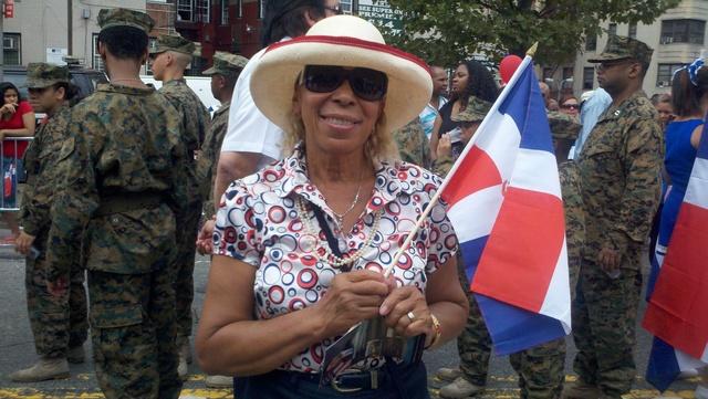 Luz Bermúdez y su fiesta en la calle (block party)