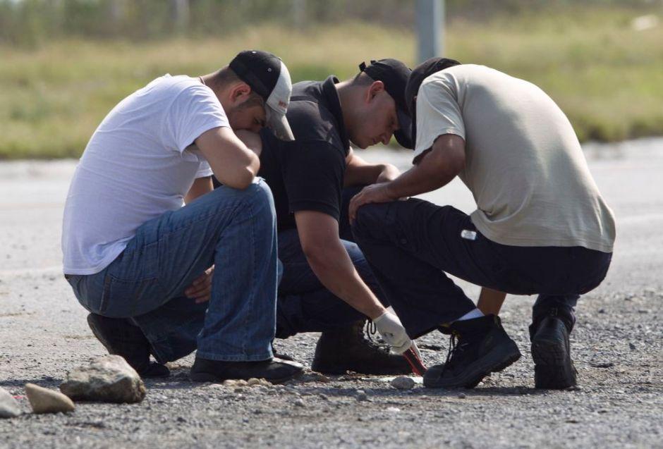 Asesinan a  cinco jóvenes en México