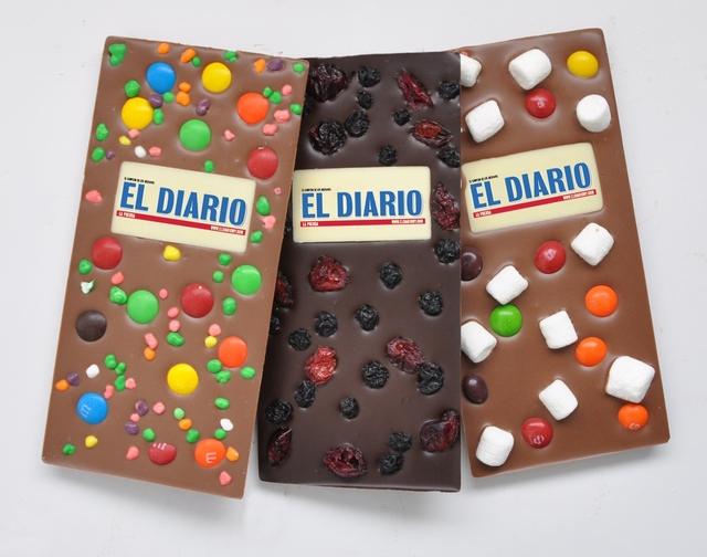 Fabrican chocolates personalizados por internet