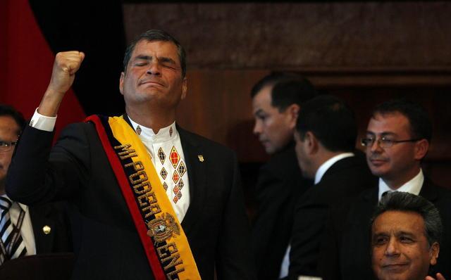 Correa: meta es combatir la pobreza