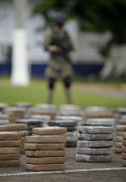Incineran siete toneladas de droga en RD