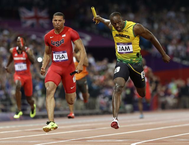 Misión cumplida para Usain Bolt
