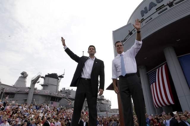 Romney  presenta al próximo… ¿presidente?