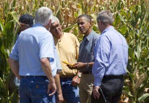 Obama inculpa a Ryan en Iowa de bloquear ley agrícola