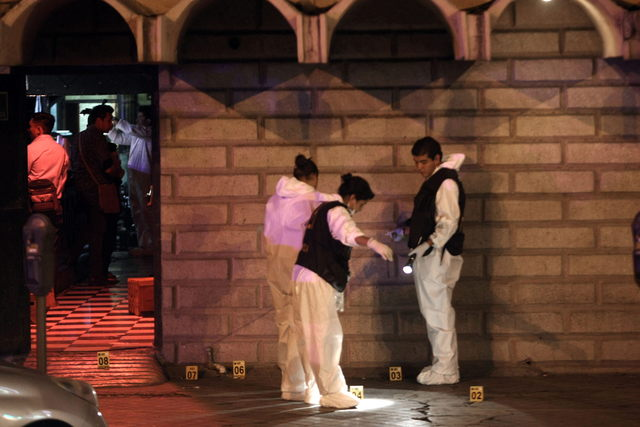 Matan a 10 en bar  conocido como'Matehuala'