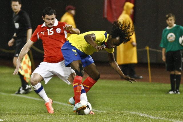 Con lluvia de goles Ecuador se impone
