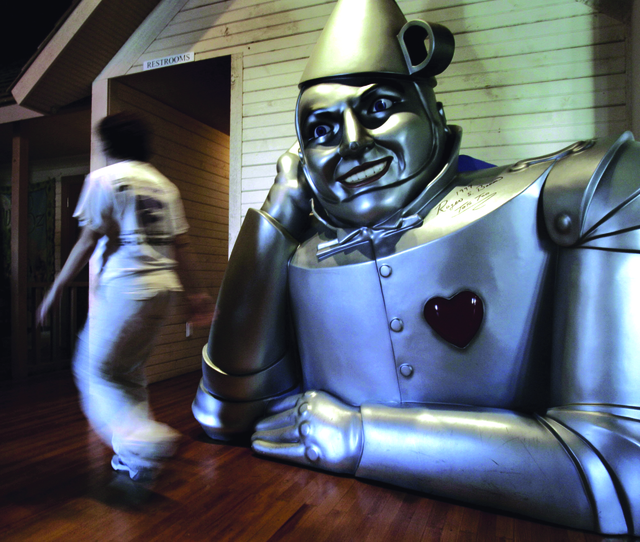 'Tin-Man' se defiende a sí mismo