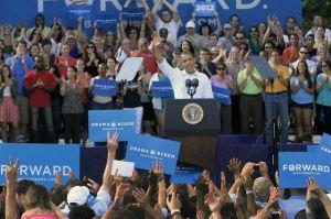 Obama recauda en Silicon Valley y  Romney en Wall Street