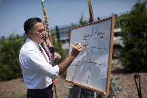 Obama el más agradable y Romney con sobresaliente en economía