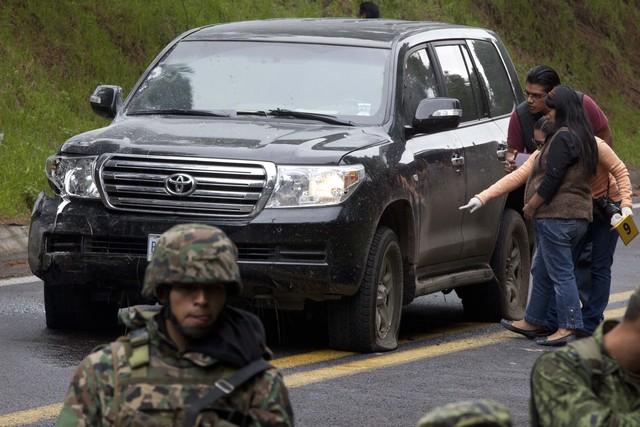 Policía federal mexicana hiere diplomáticos estadounidenses