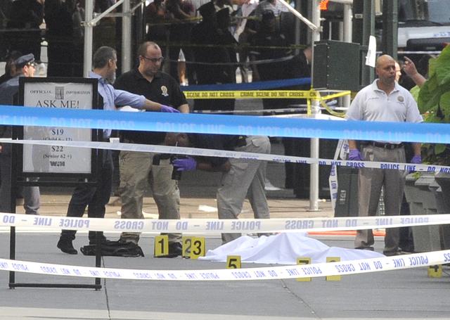 Manhattan: Muertos, heridos y sangre en la calle 34