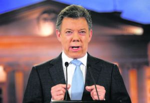 Presidente Santos: 'Proceso de paz no es de un día para el otro'