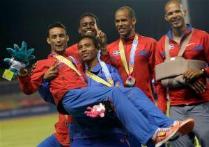 Dominicano Santos subcampeón en Liga Diamante en 400 m