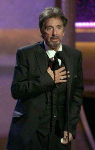 Al Pacino encarnará al polémico entrenador Joe Paterno (video)