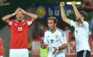 Alemania sufre para vencer a Austria rumbo a Brasil (video)