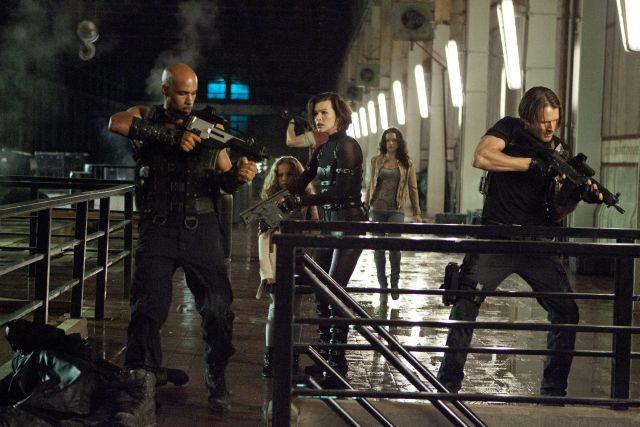 """Resident Evil: Retribution"" encabezó este fin de semana la lista de películas más taquilleras."