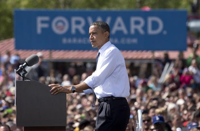 Obama y  Romney de gira por estados clave