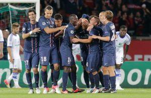 Champions: El PSG de Ibra gana 4-1 al Dynamo (fotos)
