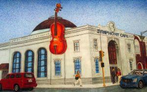 Transforma edificios con música y arte (Fotos)