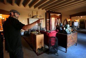Casa encantada debuta en Los Ángeles (Fotos y video)