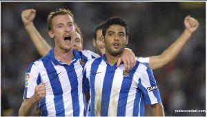 Real Sociedad gana el derby con gol de Vela (fotos)