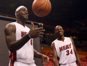 NBA: Ray Allen se instala en Miami (video)