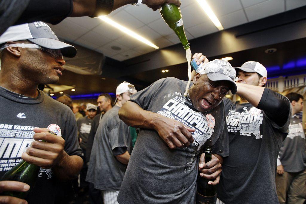 Yankees: campeones en el Este de la Liga Americana (Fotos)