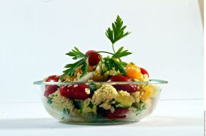 Ensaladas deliciosas y sin lechuga: Receta de ensalada de cous-cous