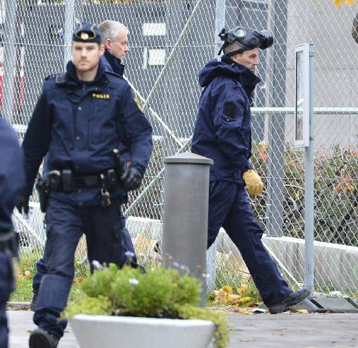 Sustancia sospechosa provoca desalojo de embajada de EEUU