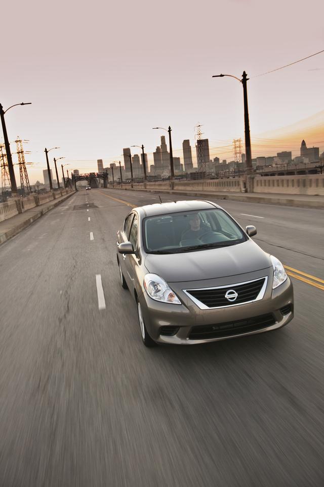 A viajar  con el Versa de Nissan