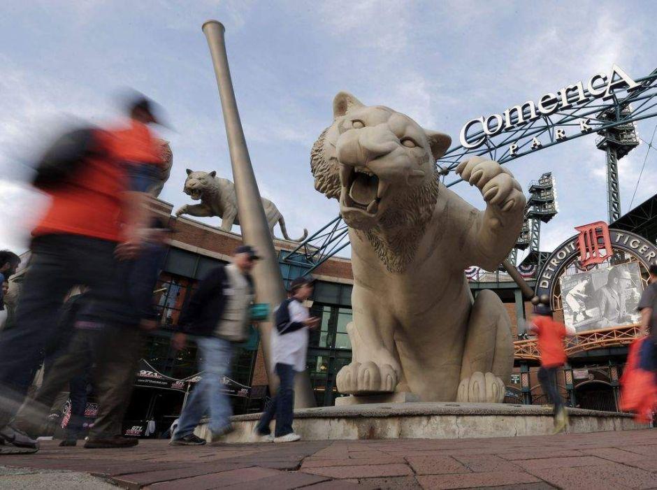 Los Tigres de Detroit tienen tiempo antes de la Serie Mundial (video)