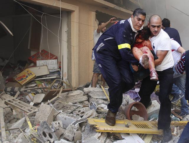 Sangriento atentado en Beirut