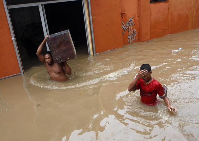 'Sandy' azota todo el Caribe